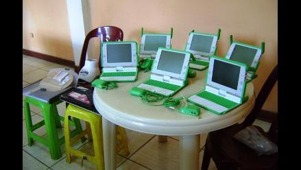 La Libertad: Detienen a sujetos tras robar laptop de programa estatal