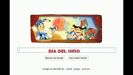 Google dedica colorido doodle por el Día Universal del Niño
