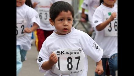 Los niños necesitan siete minutos de ejercicio al día, asegura estudio