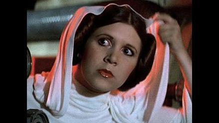 Carrie Fisher quiere volver a interpretar a la princesa Leia
