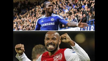 Didier Drogba y Thierry Henry cerca de volver a jugar en Inglaterra