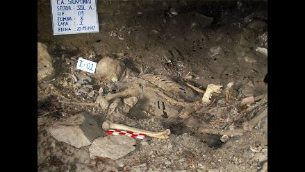 Hallan tercer contexto funerario que data de 1.000 a.C en Cusco