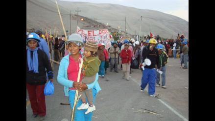 Arequipa: Mineros artesanales descartan inicio de huelga indefinida