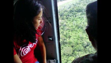 Nadine se reúne con aguarunas por problemática de salud en Amazonas