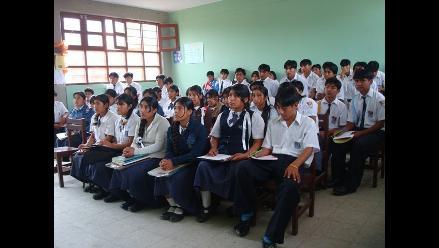 Colegios de Lambayeque no acataron paro de 24 horas