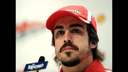 Fernando Alonso considera difícil alcanzar a Vettel en Interlagos