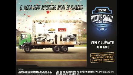 Expo Motor Show Santa Clara en Huancayo