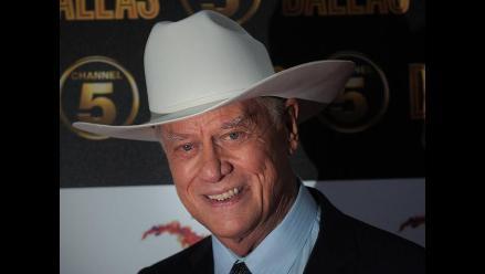 Adiós Larry Hagman, el actor que encarnó a J.R. Ewing en la serie Dallas