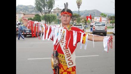 Chasqui recorre sierra peruana llevando mensaje de paz y solidaridad