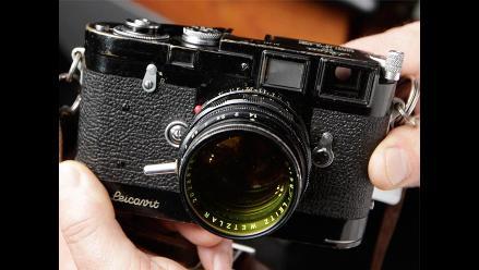 Subastan exclusivas cámaras Leica de 1929 y 1955