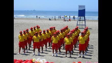 Lambayeque: Salvavidas empezaron sus entrenamientos por verano