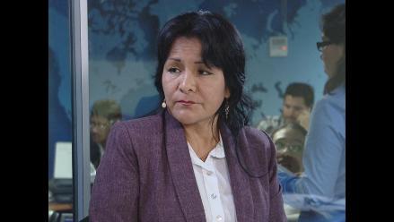 Alcaldesa de Tocache afirma no temer denuncia de Pastor