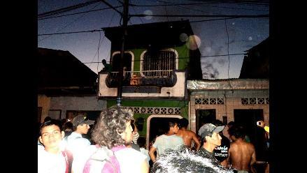Loreto: Incendio consume vivienda donde se almacenaba aguardiente