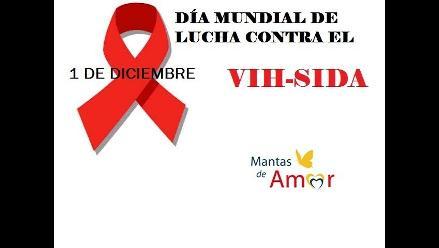 Mantas de Amor en el marco del Día Mundial de Lucha contra el VIH- Sida