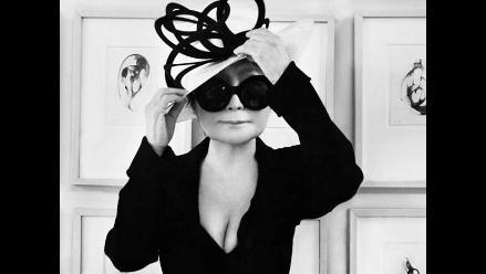 Yoko Ono da el salto al mundo de la moda inspirada en John Lennon
