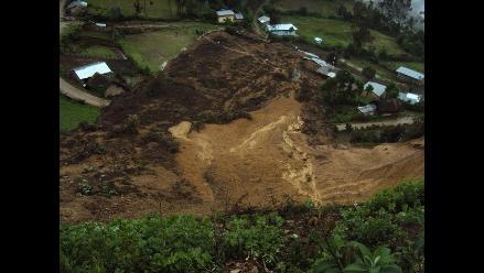 La Libertad: Huaico arrasa más de 5 kilómetros de tierras de cultivo