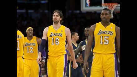 Indiana Pacers vence de visita a Los Ángeles Lakers en la NBA