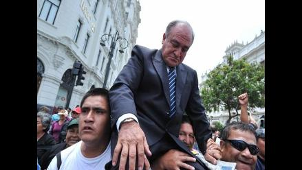 Roberto Torres Gonzáles reasumió alcaldía de Chiclayo