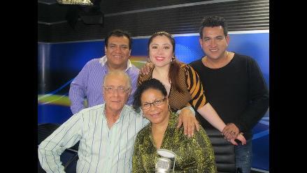 Eva Ayllón visita la cabina de Los Chistosos
