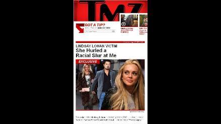 Víctima de Lindsay Lohan: Ella me lanzó un insulto racial