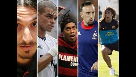 Conozca a los futbolistas que son considerados los más feos del mundo