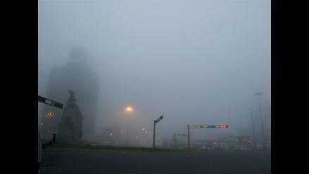 En imágenes: Así amaneció Lima hoy tras una densa neblina