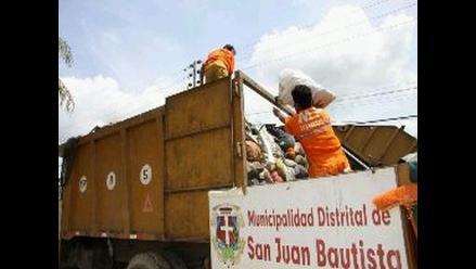 Campaña de recojo de inservibles en Iquitos para prevenir el dengue