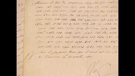 Francia: Carta de Napoleón Bonaparte será subastada