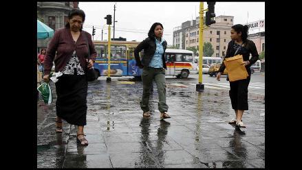 Senamhi: estiman lloviznas durante los próximos días