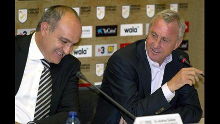 Chivas de Guadalajara corta su relación con holandés Johan Cruyff
