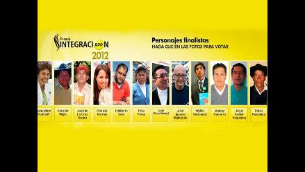 EN VIVO: Final del Premio Integración 2012