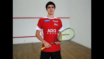 Diego Elías se coronó campeón del Abierto Nacional de Squash