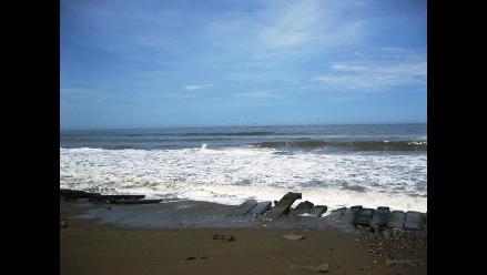 Chimbote: Mar cubre 200 metros de playa en los últimos 10 años
