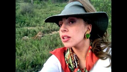 Lady Gaga deja los escenarios y sale de safari