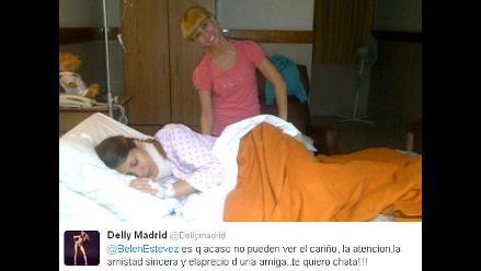 Delly Madrid niega mala intención de Belén Estévez con fotografía