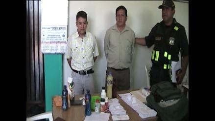 Piura: Detienen a sujetos con insumos para la falsificación de billetes