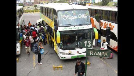 La Libertad: Delincuentes asaltan bus con modalidad de ´patinaje´