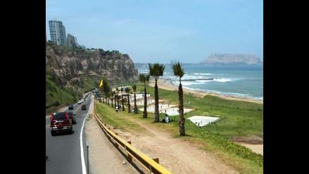 Cerrarán tramo de la Costa Verde hasta mayo del 2013