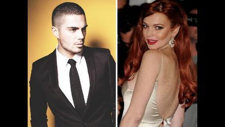 Lindsay Lohan se va de gira con The Wanted para conquistar a Max George
