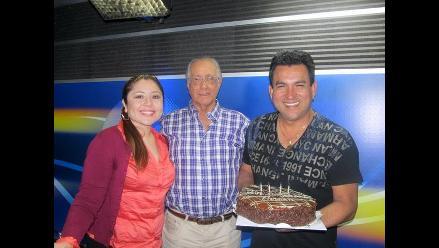 Adelantamos los festejos por el cumpleaños de Hernán Vidaurre
