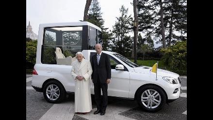 El nuevo ´papamóvil´, un Mercedes con las últimas tecnologías