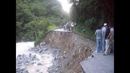 Junín: Huaico bloquea sector de la vía La Oroya-Huancayo