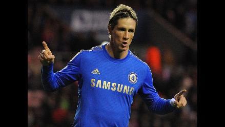 Chelsea venció 3-1 al Sunderland con gran actuación de Fernando Torres