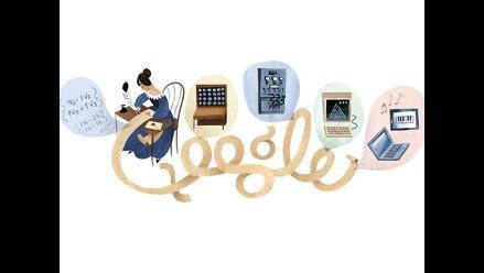 Google rinde homenaje a Ada Lovelace con un doodle