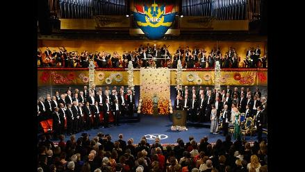 En imágenes: la ceremonia de entrega de los Premio Nobel 2012