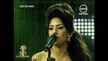 Yo soy: Amy Winehouse derrochó talento en el escenario