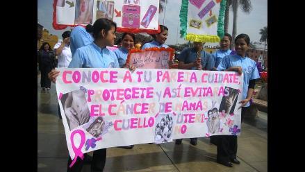 Cáncer a la próstata y cuello uterino con más frecuencia en Trujillo