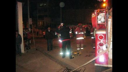 Cajamarca: Fuga de gas provoca pavoroso incendio en Moyococha
