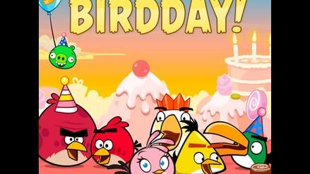 ¡Feliz cumpleaños!: Los Angry Birds celebran sus 3 años
