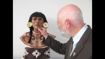 Lambayeque: Presentaron rostro de la Sacerdotisa de Chornancap